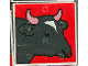 Part No: 2756pb057  Name: Duplo Tile 2 x 2 x 1 with Cow Mosaic Picture 03 Pattern (Set 1078)