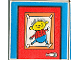 Part No: 2756pb103  Name: Duplo Tile 2 x 2 x 1 with Home Mosaic Picture 13 Pattern (Set 9221)