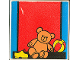 Part No: 2756pb106  Name: Duplo Tile 2 x 2 x 1 with Home Mosaic Picture 16 Pattern (Set 9221)