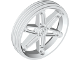 Part No: 2903  Name: Wheel 61.6mm D. x 13.6mm Motorcycle