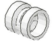 Part No: 30027u  Name: Wheel  8mm D. x 9mm (for Slicks), Undetermined Hole Type