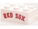 Part No: 3002pb38  Name: Brick 2 x 3 with Red 'RED SOX' with Black Outline Pattern