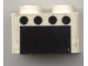 Part No: 3003pb004  Name: Brick 2 x 2 with 4 Black Spots over Black Rectangle (Oven) Pattern (Sticker) - Set 6365