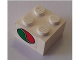 Part No: 3003pb076  Name: Brick 2 x 2 with Octan Logo Pattern on Both Sides (Stickers) - Set 6543