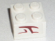 Part No: 3003pb078  Name: Brick 2 x 2 with Alien Character Pattern on Both Sides (Stickers) -Set 8088