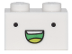 Part No: 3004pb146  Name: Brick 1 x 2 with Eyes and Smile Open Mouth Pattern (71246)