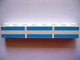 Part No: 3008pb005  Name: Brick 1 x 8 with Ferry Stripes Light Blue 6 in 2 Lines Pattern (Set 1581)