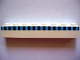 Part No: 3008pb010  Name: Brick 1 x 8 with Ferry Squares Light Blue and Black in 1 Line Pattern (Set 1581)