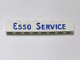 Part No: 3008pb011  Name: Brick 1 x 8 with Blue 'ESSO SERVICE' Long Pattern