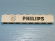 Part No: 3008pb066  Name: Brick 1 x 8 with Black 'PHILIPS' Logo and Text Pattern