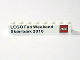Part No: 3008pb118  Name: Brick 1 x 8 with LEGO Fan Weekend Skaerbaek 2010 and Lego Logo Pattern