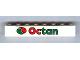 Part No: 3008pb119  Name: Brick 1 x 8 with Octan Logo Pattern (Sticker) - Set 6539