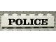 Part No: 3009pb022  Name: Brick 1 x 6 with Black 'POLICE' Serif Pattern