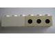 Part No: 3009pb096R  Name: Brick 1 x 6 with 3 Black Spots Right Pattern (Sticker) - Set 364