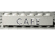 Part No: 3009px11  Name: Brick 1 x 6 with Black 'CAFE' Pattern