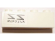 Part No: 3010pb175R  Name: Brick 1 x 4 with Reversed 'ZZ' SW Red Five X-wing Starfighter Pattern Model Right Side (Sticker) - Set 10240