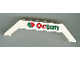 Part No: 30180pb06  Name: Slope 45 10 x 2 x 2 Double with Octan Logo Pattern (Sticker) - Set 6582