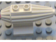 Part No: 30358  Name: Engine, Strakes, 2 Top Studs, 2 x 2 Bottom Tile