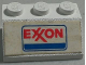 Part No: 3038pb10  Name: Slope 45 2 x 3 with Exxon Logo Pattern (Sticker) - Set 554