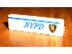 Part No: 30413pb001R  Name: Panel 1 x 4 x 1 with 'NYPD' and Badge Right Pattern (Sticker) - Set 1376