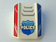 Part No: 30602pb082  Name: Slope, Curved 2 x 2 Lip, No Studs with 'POLICE', Badge, Grille and Red and Blue Sides Pattern (10687)