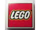 Part No: 3068bpb0214  Name: Tile 2 x 2 with Groove with LEGO Logo Type 2 Pattern
