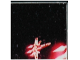 Part No: 3068bpb0226  Name: Tile 2 x 2 with Groove with Star Wars Mosaic Falcon and X-wing Pattern  4 - X-wing bottom center
