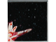 Part No: 3068bpb0227  Name: Tile 2 x 2 with Groove with Star Wars Mosaic Falcon and X-wing Pattern  5 - X-wing bottom left