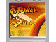 Part No: 3068bpb0246  Name: Tile 2 x 2 with Groove with Indiana Jones Raiders Pattern  3 - 'JONES'