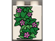 Part No: 31110pb003  Name: Duplo, Brick 2 x 2 x 2 with Small Flowers and Ivy Leaves Pattern