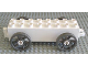 Part No: 31174c01  Name: Duplo Car Base 2 x 8 x 1 1/2 with Small Dark Gray Spoked Wheels