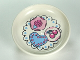 Part No: 31333pb03  Name: Duplo Utensil Dish with Fancy Cakes on Doily Pattern