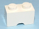 Part No: 3134a  Name: Brick, Modified 1 x 2 with Cable Holding Cutout (Semi Oval)