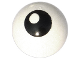 Part No: 32474pb002  Name: Technic Ball Joint with Black Eye with Pupil Pattern