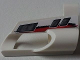 Part No: 32527pb15  Name: Technic, Panel Fairing # 5 Small Short, Large Hole, Side A with Red and Black Stripes and Vents Pattern (Sticker) - Set 8262