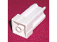 Part No: 33063  Name: Scala Support Connector Brick, Stud Receptacle Bottom