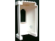 Part No: 33213pb04  Name: Belville Wall, Tower with Window with Snowflake Pattern on Inside (Sticker) - Set 7581
