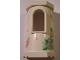 Part No: 33213pb06  Name: Belville Wall, Tower with Window with Flowers and Butterflies Pattern (Stickers) - Set 7578