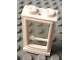 Part No: 33ac01  Name: Door 1 x 2 x 3 Right (old type) with Solid Studs and Fixed Glass