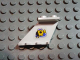 Part No: 3479pb04L  Name: Tail 4 x 2 x 2 with Yellow Submarine on Blue Triangle Pattern on Left Side (Sticker) - Set 6441