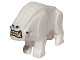 Part No: 36032pb01  Name: Corellian Hound with Teeth and Eyes Pattern (Star Wars)