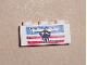 Part No: 3622pb007  Name: Brick 1 x 3 with Steer / Bull's Head, Blue and Red Stripes Pattern