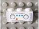 Part No: 3622pb031  Name: Brick 1 x 3 with Radio Pattern (Sticker) - Set 7586