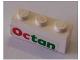 Part No: 3622pb039  Name: Brick 1 x 3 with Octan Pattern (Sticker) - Set 6543