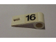 Part No: 3821pb010  Name: Door 1 x 3 x 1 Right with Number 16 Pattern (Sticker) - Set 6634