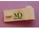 Part No: 3821pb014  Name: Door 1 x 3 x 1 Right with MD Foods Logo Pattern (Sticker) - Set 1952