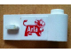 Part No: 3821pb020  Name: Door 1 x 3 x 1 Right with Arla Dairy Logo Pattern (Sticker) - Set 1581-2