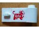 Part No: 3821pb020  Name: Door 1 x 3 x 1 Right with Arla Dairy Logo Pattern (Sticker) - Set 1581-2