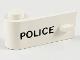 Part No: 3822pb001  Name: Door 1 x 3 x 1 Left with 'POLICE' Pattern