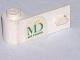 Part No: 3822pb014  Name: Door 1 x 3 x 1 Left with MD Foods Logo Pattern (Sticker) - Set 1952